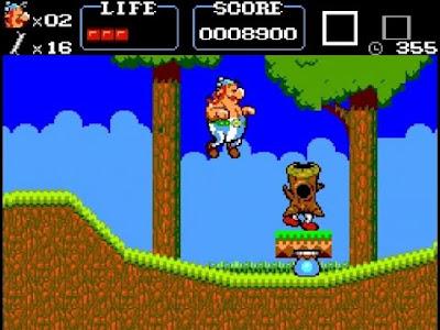Astérix y Sega Master System, una historia de amor de videojuego de 8 bits