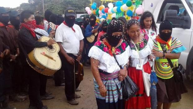 Continúa 'Marichuy' de gira por territorios zapatistas ¿Votarías por ella?
