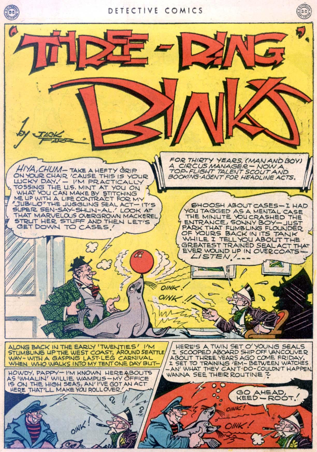Read online Detective Comics (1937) comic -  Issue #106 - 15