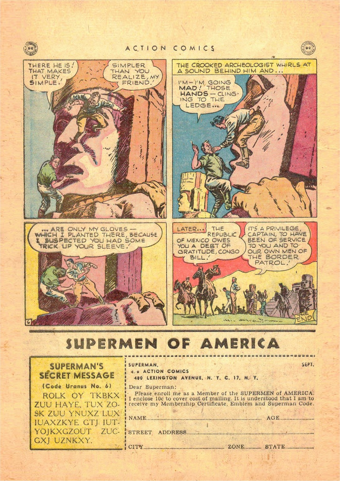 Read online Action Comics (1938) comic -  Issue #124 - 40