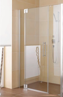 A Glass Pendulum Shower Door