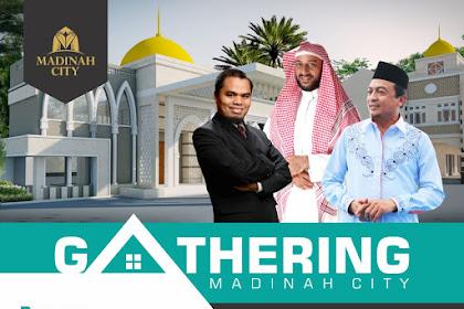 Gathering Akbar dan Soft Launching Perumahan Madinah City