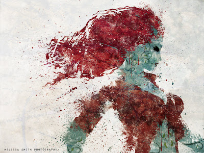 Poison Ivy pintura óleo