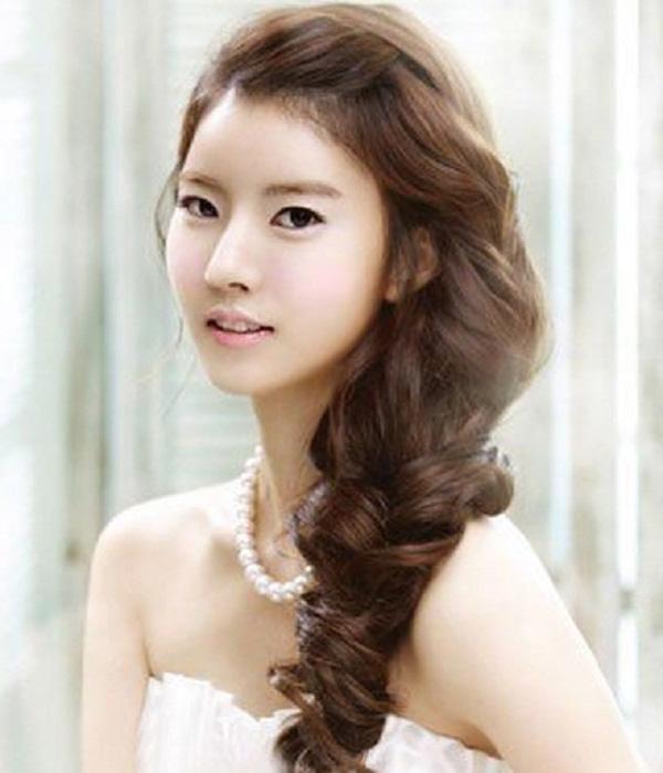 14 Best Korean Wedding Hairstyle 2015