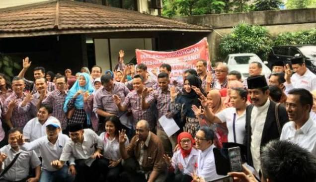 Makin Dekat Hari Pencoblosan, Relawan Jokowi Pindah Haluan Dukung Anies-Sandi