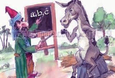 قصة والي يعلم حماره الكتابة قصص مضحكة بها عبرة