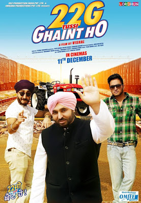 22g Tussi Ghaint Ho 2015 Punjabi HDRip 1GB free download dvdrip 700mb or watch online at https://world4ufree.ws