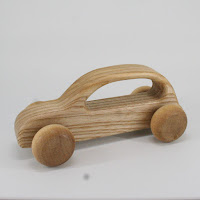 LFC21, Fisherman's Car , Lotes Toys Wooden Car