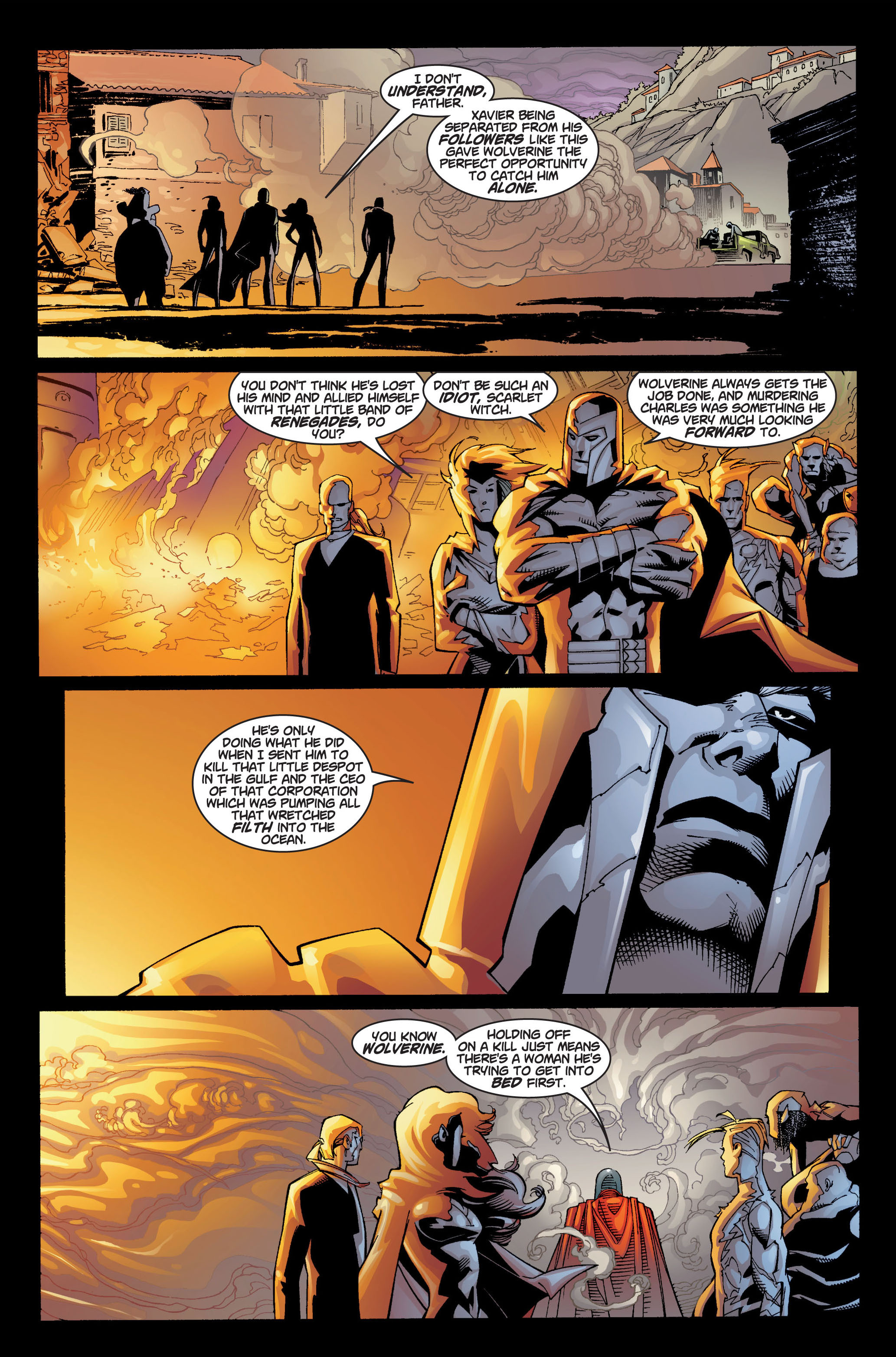 Read online Ultimate X-Men comic -  Issue #4 - 9