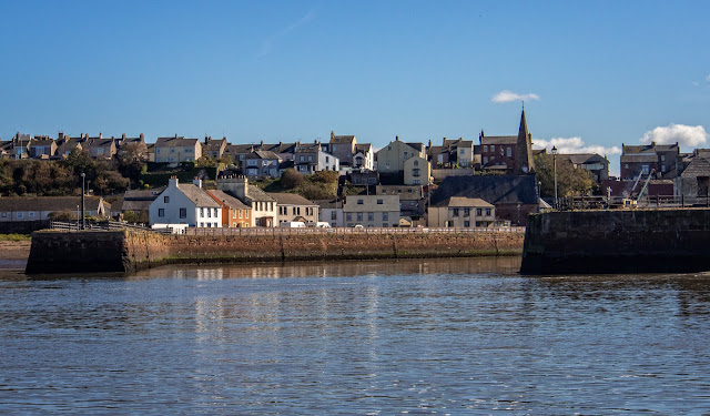 Photo of Maryport Harbour from the basin