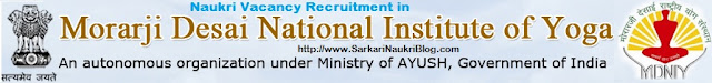 Naukri vacancy recruitment in MDNIY