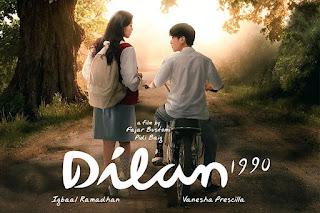 Film Dilan 1990 sudah tayang di bioskop