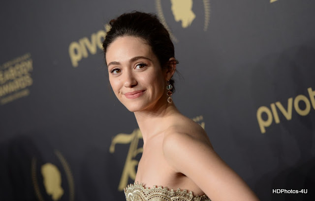 Full  4K HQ Photos of Emmy Rossum At 75th Annual Peabody Awards In New York