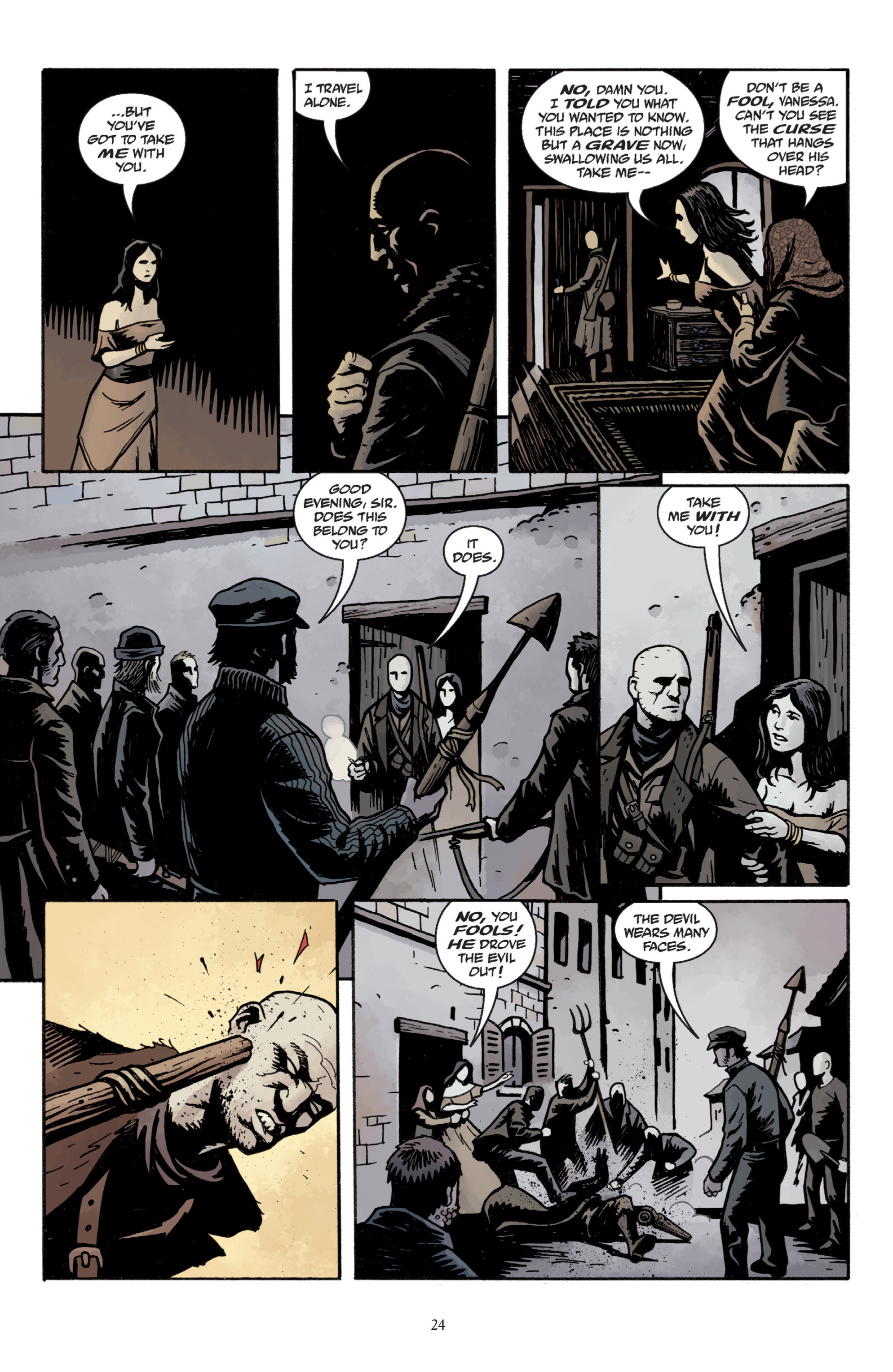 Read online Baltimore: The Plague Ships comic -  Issue # TPB - 26