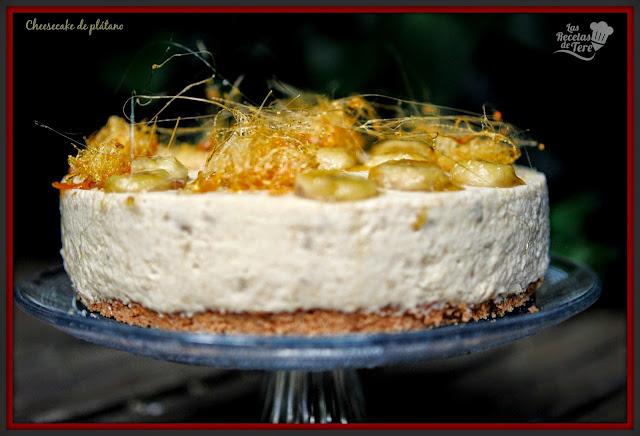 cheesecake de plátano tererecetas 07