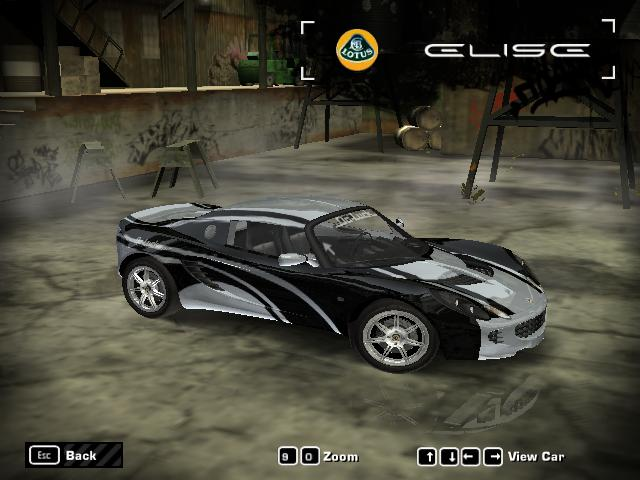 NFS Most Wanted Cars Designs