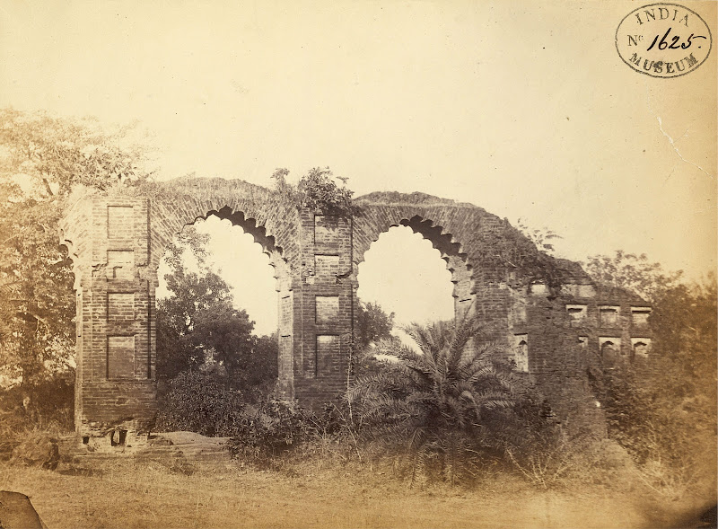 Ruins at Rajnagar, Ancient Capital of Birbhum District, Bengal - 1870