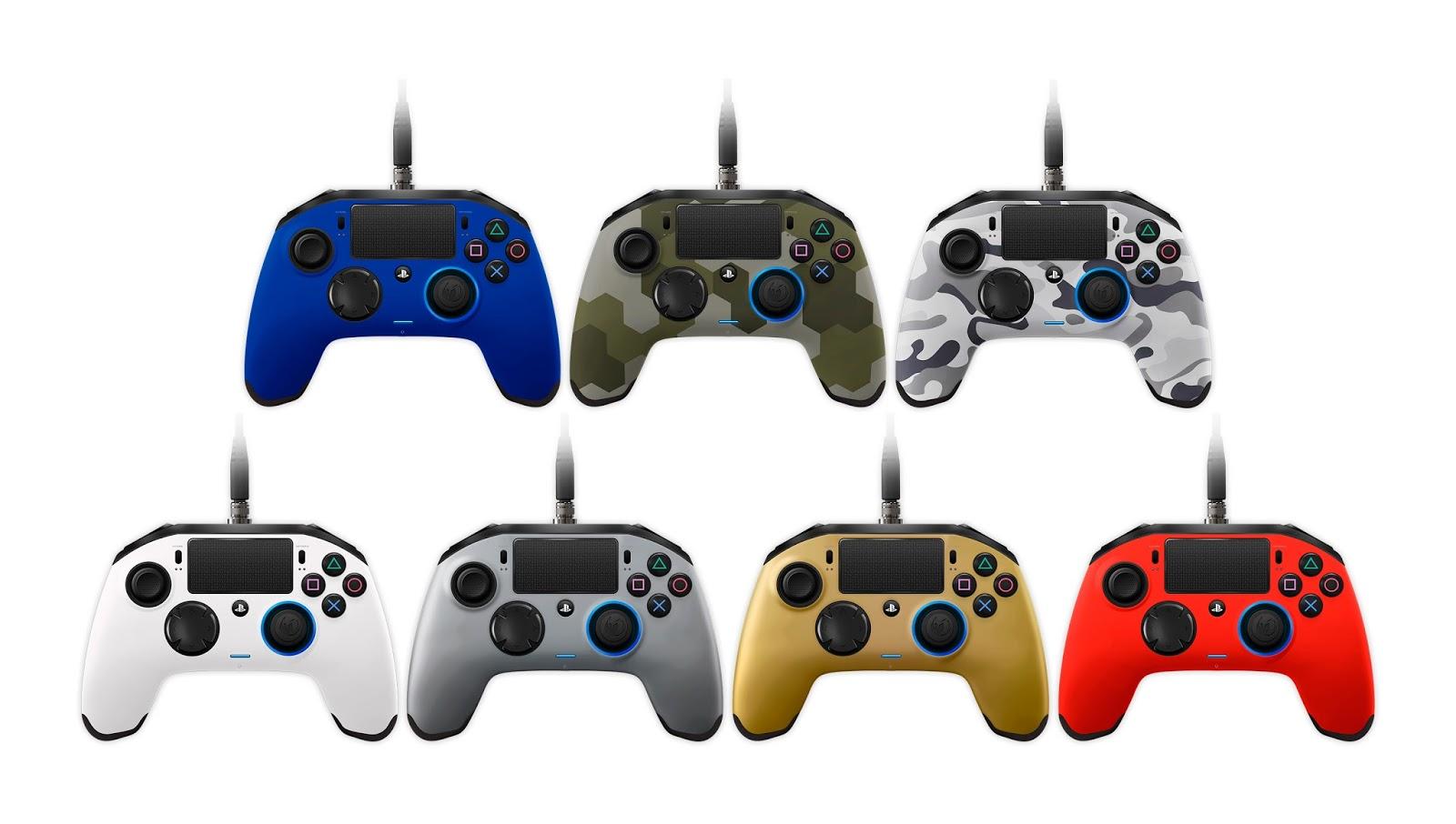 Nacon Revolution Pro Controller anuncia siete nuevos colores