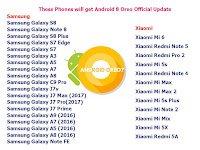 These All Phones will get Android 8 Oreo Official Update,how to update android 8 oreo,android 8 oreo of asus,android 8 oreo mi,android 8 oreo samsung,oreo custom rom,how install android 8.0 oreo,which phone will get android oreo,how to install,update android 8 oreo,android uptade,system update,how to install android oreo in any android phone,moto,android oreo Official Update,latest oreo phone,custom installation,android 8 Oreo rom,all phone,list of phones Click here for full model number and updated list...   Facebook Page : https://www.facebook.com/MeMJTube Follow on twitter:  https://twitter.com/mj1111983 Website : http://www.bsocialshine.com  Samsung Samsung Galaxy S8(G950F, G950W)  Samsung Galaxy Note 8  Samsung Galaxy S8 Plus (G955,G955FD)  Samsung Galaxy S7 Edge(G935F, G935FD, G935W8)  Samsung Galaxy S7(G930FD, G930F, G930, G930W8)  Samsung Galaxy A3( 2017)(A320F)  Samsung Galaxy A5( 2017)(A520F)  Samsung Galaxy A7 ( 2017)(A720F, A720DS)  Samsung Galaxy A8 ( 2017)(A810F, A810DS)  Samsung Galaxy C9 Pro  Samsung Galaxy J7v  Samsung Galaxy J7 Max (2017)  Samsung Galaxy J7 Pro(2017)  Samsung Galaxy J7 Prime(G610F, G610DS, G610M/DS)  Samsung Galaxy A9 (2016)(SM-A9100)  Samsung Galaxy A7 (2016)(A710F, A710DS)  Samsung Galaxy A5 (2016)(A510F, A510F)  Samsung Galaxy A8 (2016)(A810F, A810DS)  Samsung Galaxy Note FE  Xiaomi Xiaomi Mi 6  Xiaomi Redmi Note 5  Xiaomi Redmi Pro 2  Xiaomi Mi 5s  Xiaomi Redmi Note 4  Xiaomi Mi Max  Xiaomi Mi Max 2  Xiaomi Mi 5s Plus  Xiaomi Mi Note 2  Xiaomi Mi Mix  Xiaomi Mi 5X  Xiaomi Redmi 5A  Motorola Motorola Moto G5 Plus( XT1684, XT1685, XT1687)  Motorola Moto G5  Motorola Moto G5 Plus Motorola Moto G4 Plus  Motorola Moto G4 Motorola Moto Z( XT1635-03)  Motorola Moto Z2 Play  Motorola Moto Z Play  Motorola Moto Z Style  Motorola Moto Z Force  LG LG G6( H870, H870DS, US987)  LG G5( H850, H858, US996, H860N)  LG V30  LG V20(H990DS, H990N, US996)  LG V10 (H960, H960A, H960AR)  LG Nexus 5X  LG Q8  LG Q6  LG X Venture  LG Pad IV 8.0  Huawei Huawei P10(VTR-L09, VTRL29, VTR-AL00, VTR-TL00)  Huawei P10 lite (Lx1, Lx2, Lx3)  Huawei Honor 9(AL00, AL10, TL10)  Huawei P8 Lite 2017  Huawei P9 Lite (2017),  Huawei Honor 8 Lite,  Huawei Nova Lite,  Huawei GR3 (2017)  Huawei Nova 2(PIC-AL00)  Huawei Nova 2 Plus(BAC-AL00)  Huawei Honor 8 Pro  Huawei P10 Plus  Huawei Mate 9 Porsche  Huawei Mate 9  Huawei Mate 9 Pro  Huawei Nexus 6P   Asus Asus ZenFone 4 (ZE554KL)  Asus ZenFone Pro (ZS551KL)  Asus ZenFone 4 Max (ZC520KL)  Asus ZenFone 4 Max Pro (ZC554KL)  Asus ZenFone 4 Selfie (ZD553KL)  Asus ZenFone 4 Selfie Pro (ZD552KL)  Asus Zenpad Z8s (ZT582KL)  Asus Zenfone Go(ZB552KL)  Asus Zenfone Live(ZB501KL)  Asus Zenfone 3s Max  Asus Zenfone AR  Asus Zenfone 3 Zoom  Asus Zenfone 3 Max  Asus Zenfone 3 Deluxe 5.5  Asus Zenfone 3 Laser  Asus Zenfone 3  Asus Zenfone 3 Ultra  Asus ZenPad Z8s  Asus ZenPad 3s 8.0  Asus ZenPad 3s 10  Asus ZenPad Z10 Acer Iconia Talk S  Acer Liquid Z6 Plus  Acer Liquid Z6  Acer Liquid X2  Acer Liquid Zest  Acer Liquid Zest Plus  Google Google Pixel  Google Pixel XL  Google Pixel 2  Google Pixel C  Google Nexus Player   Lenovo Lenovo Zuk Edge  Lenovo K6 Note  Lenovo K6 Power  Lenovo Zuk Z2 Plus  Lenovo Zuk Z2 Pro   Yu Yureka Yu Yunique 2  Yu Yurek Black  Yu Yunicorn  Yu Yureka S  Yu Yureka Note  Sony Sony Xperia XZ Premium(G8141, G8142)  Sony Xperia XZS(G8231, G8232)  Sony Xperia XA1(G3121, G3123, G3125, G3116, G3123)  Sony Xperia XZ( F8331, F8332)  Sony Xperia XA1 Ultra( G3221, G3212, G3223, G3226)  Sony Xperia XA Ultra  Sony Xperia XA  Sony Xperia X Performance  Sony Xperia X( F5121, F5122)  Sony Xperia X Compact   HTC HTC U11  HTC U Ultra  HTC U Play  HTC Desire 10 Pro  HTC Desire 10 Lifestyle  HTC 10 Evo  HTC 10  ZTE ZTE Axon 7  ZTE Axon 7 Mini  ZTE Blade V8  ZTE Blade V7  ZTE Axon Pro  ZTE Axon 7s  ZTE Nubia Z17  ZTE Max XL  ZTE Axon Elite  ZTE Axon Mini  Nokia Nokia 3  Nokia 5  Nokia 6  Nokia 8  VIVO VIVO X9 Plus  VIVO X9  OPPO OPPO F3 Plus  OPPO R11  OPPO R11 Plus  OPPO Find 9  OnePlus OnePlus 5  OnePlus 3T  OnePlus 3