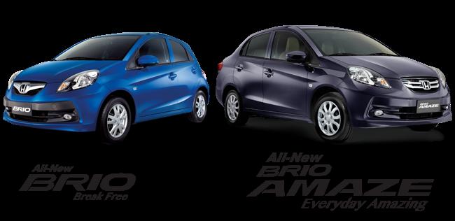 2014 Honda Brio  and Brio Amaze