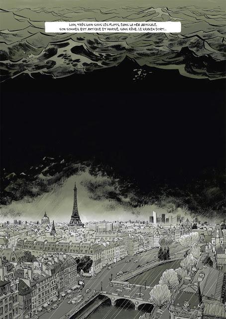 """page de """"KRAKEN"""" de Pagani et Cannucciari chez Soleil"""