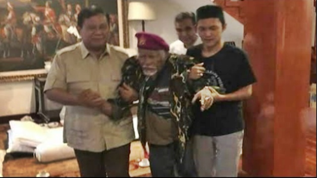 Didatangi Wan Syaikhon, Habib Mahdi Doakan Prabowo Jadi Presiden