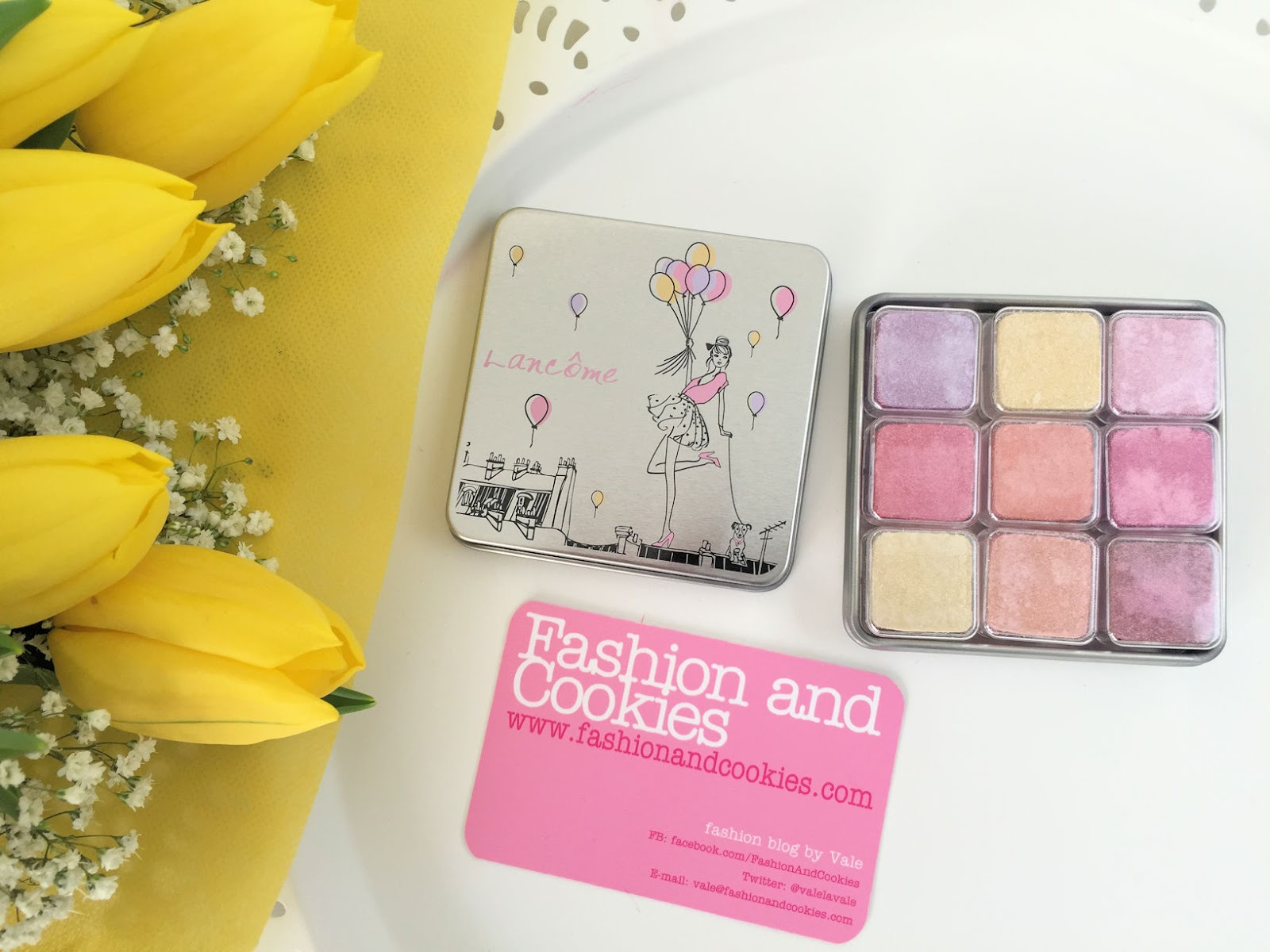 Lancôme makeup collection for Spring 2016 My Parisian Pastels cube review on Fashion and Cookies beauty blog, beauty blogger