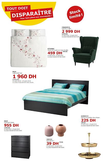 ikea maroc d stockage jusqu 39 au 25 ao t 2018 lecatalogue. Black Bedroom Furniture Sets. Home Design Ideas