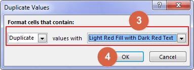 Cara Menemukan Duplikat Data Excel 3