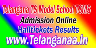 Telangana Model School TSMS 6th 7th 8th 9th 10th Class Inter 1st Year Admission Online Apply Exam Halltickets Result 2016 Download