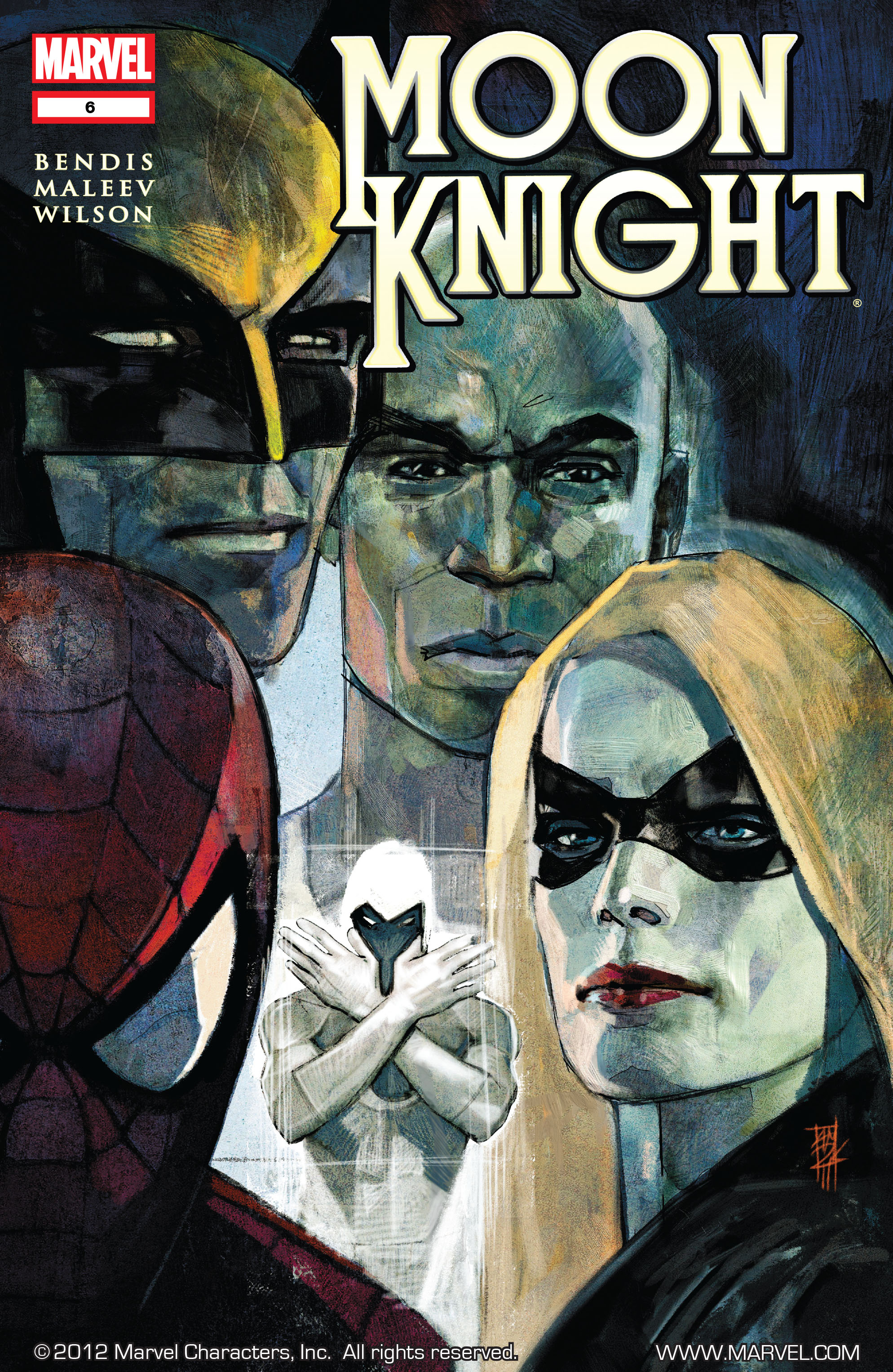 Moon Knight (2011) 6 Page 1