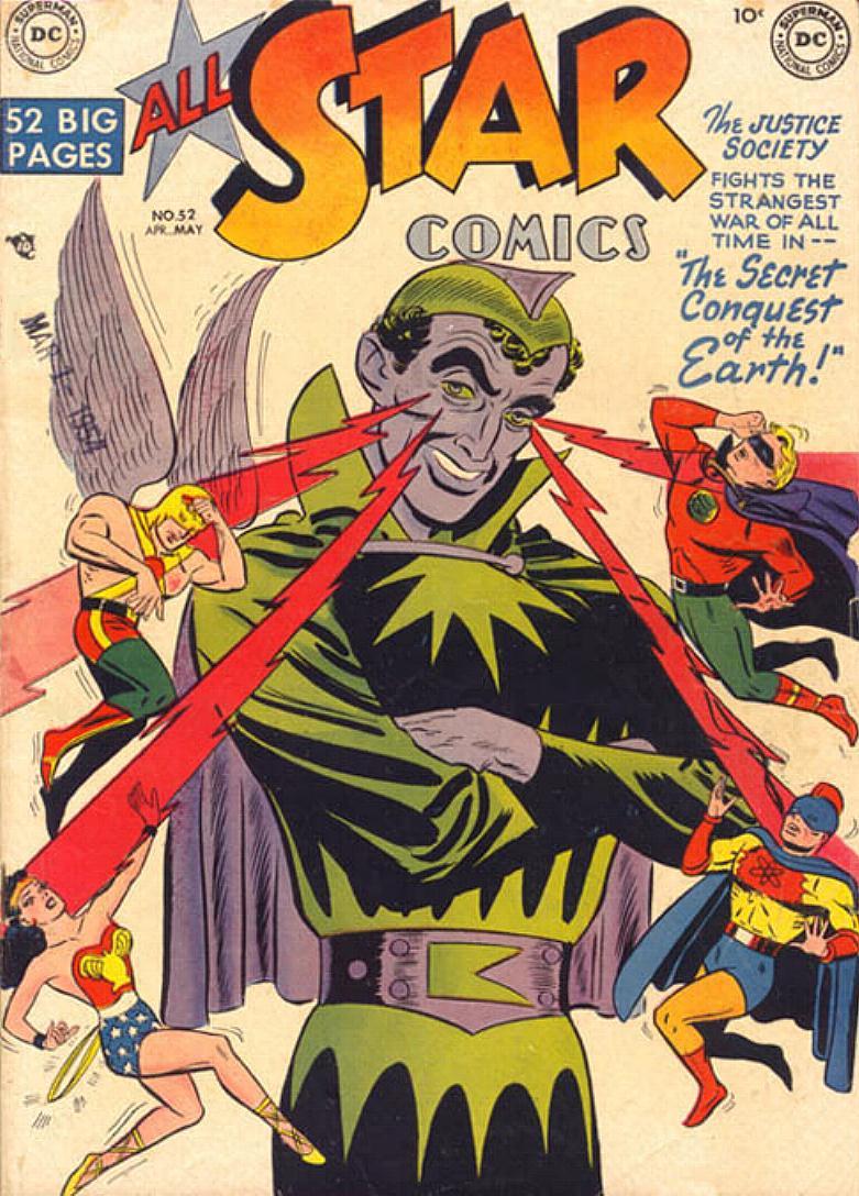 Read online All-Star Comics comic -  Issue #52 - 1