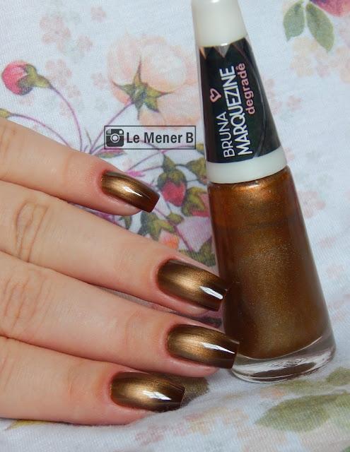 esmalte gold black ludurana