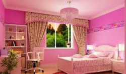 pink korean bedroom bedrooms teenage decoration decorating curtain fashionable chic girly colorful