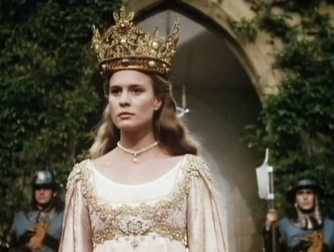 Buttercup (Robin Wright) en La princesa prometida - Cine de Escritor