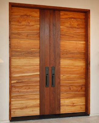 desain pintu utama minimalis modern terbaru