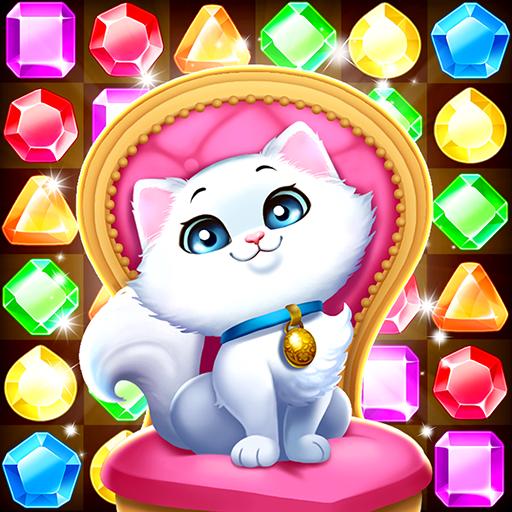 تحميل لعبه Jewel Castle – puzzle game v1.1.2  مهكره وجاهزه