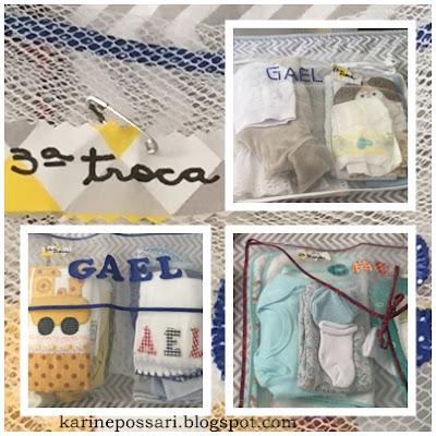 saquinhos de tule para maternidade