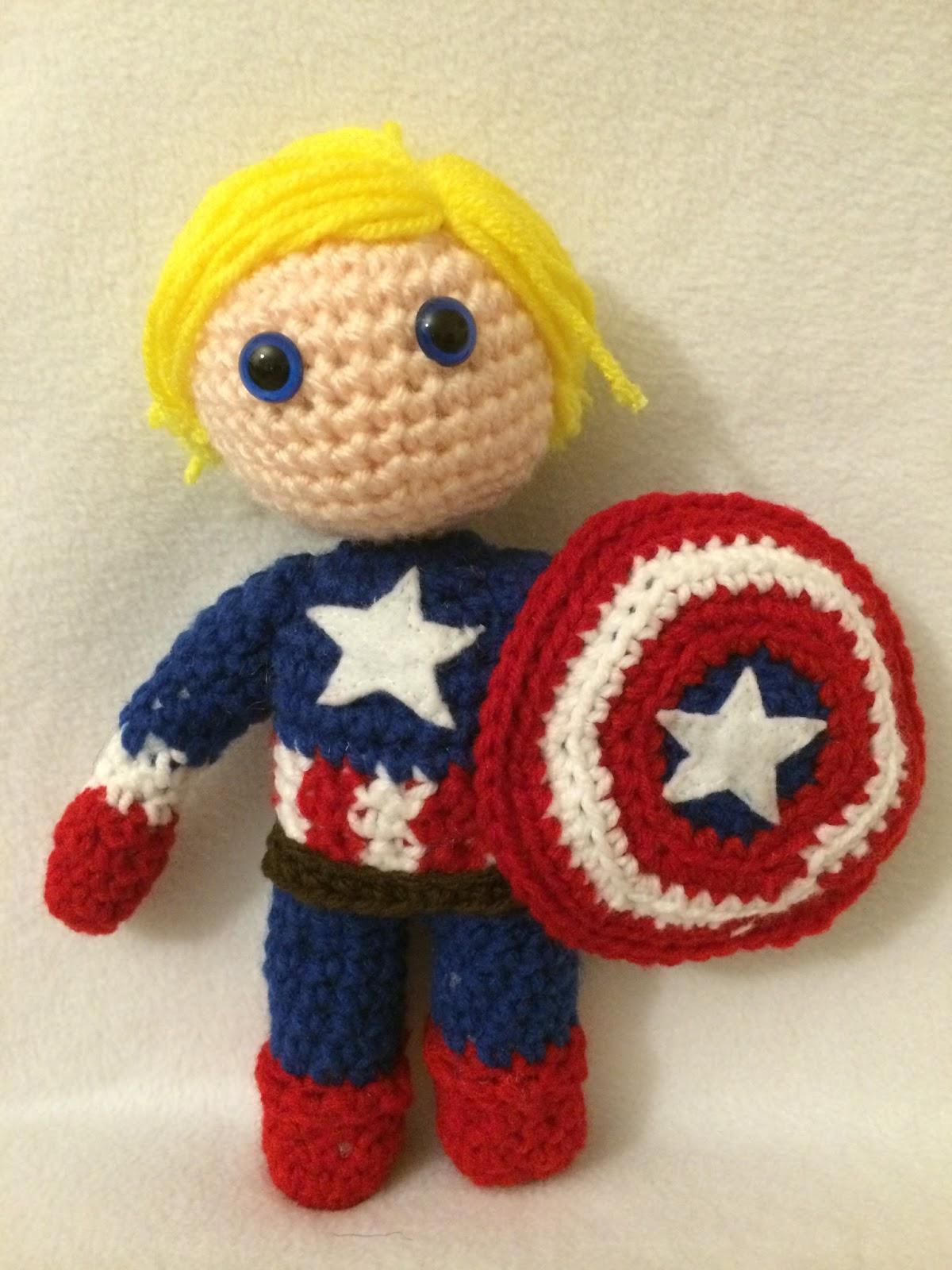 Julias Crochet Dolls Marvel Wayward Pineapple Creations