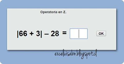 Operatoria en Z.