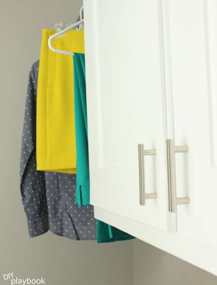 How to make organized laundry room cabinets
