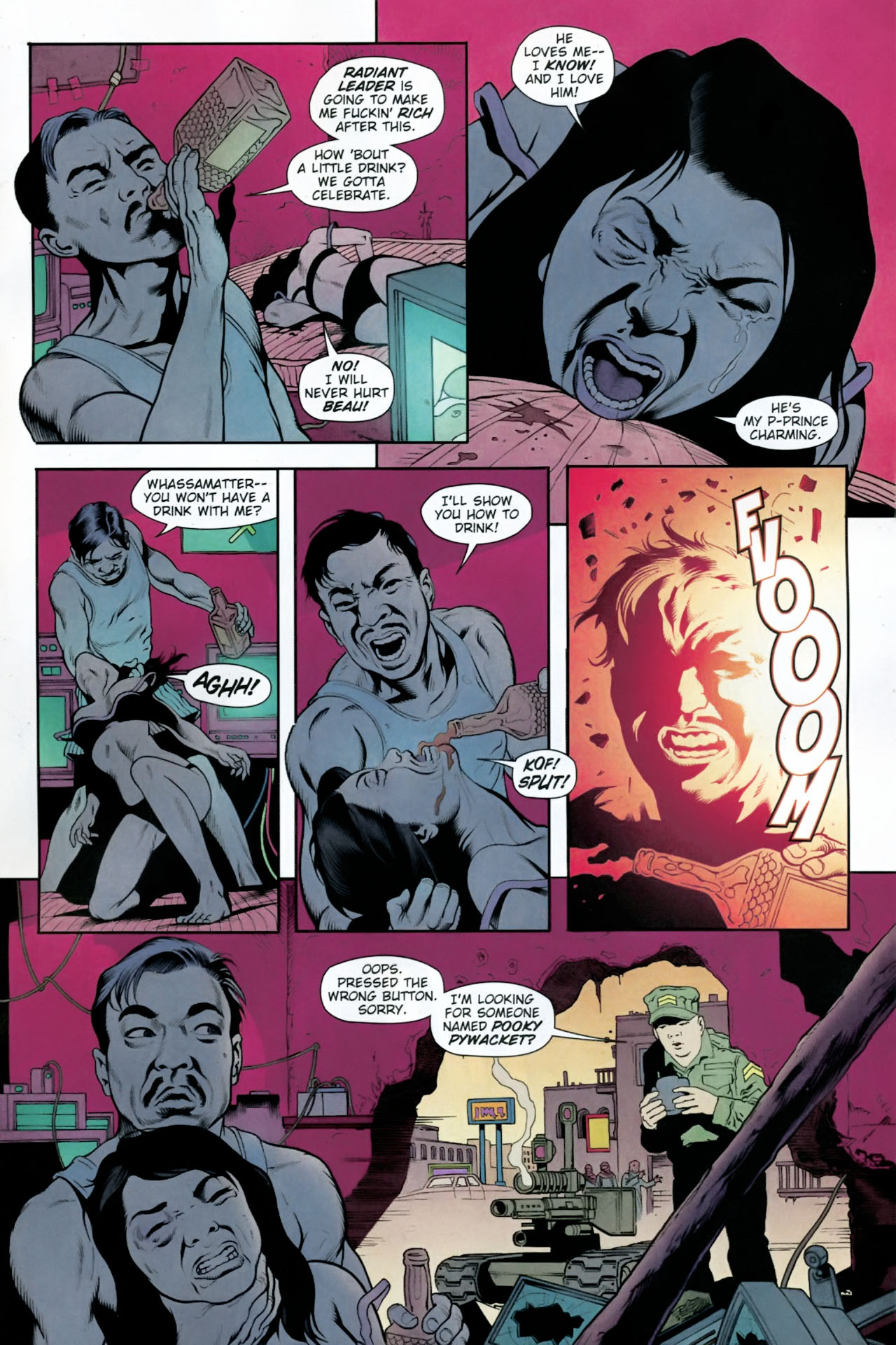 Read online Army @ Love comic -  Issue #12 - 19