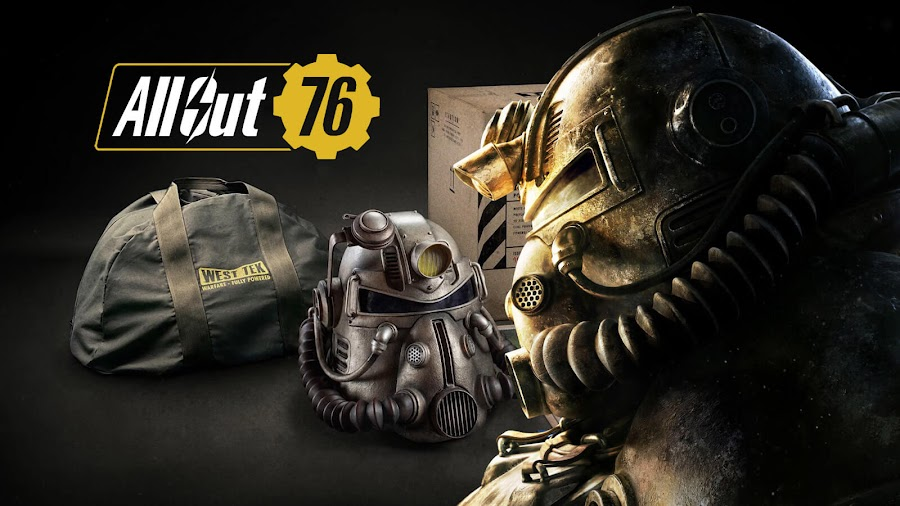 bethesda fallout 76 power armor edition nylon bags