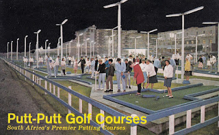 Putt-Putt Golf Courses - South Africa's Premier Putting Courses. A postcard coupon good for one free round at Putt-Putt Germiston.