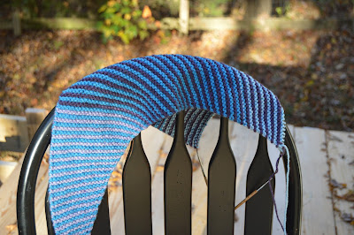 striped triangular scarf, http://www.ravelry.com/projects/jeanniegrayknits