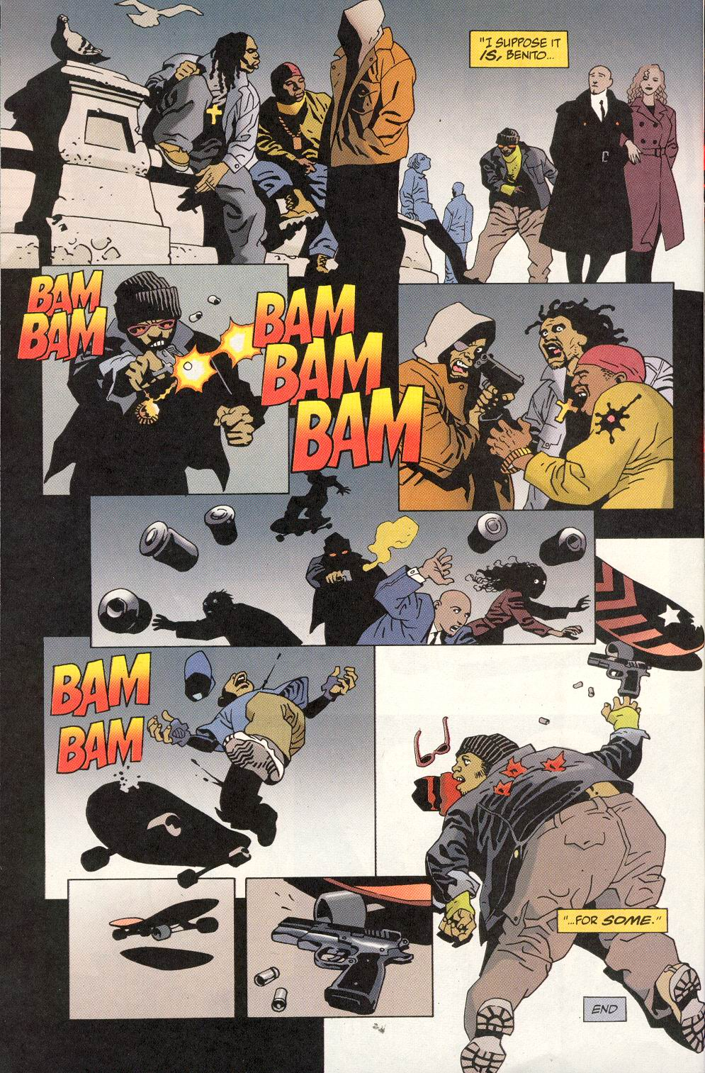 Read online 100 Bullets comic -  Issue #20 - 24