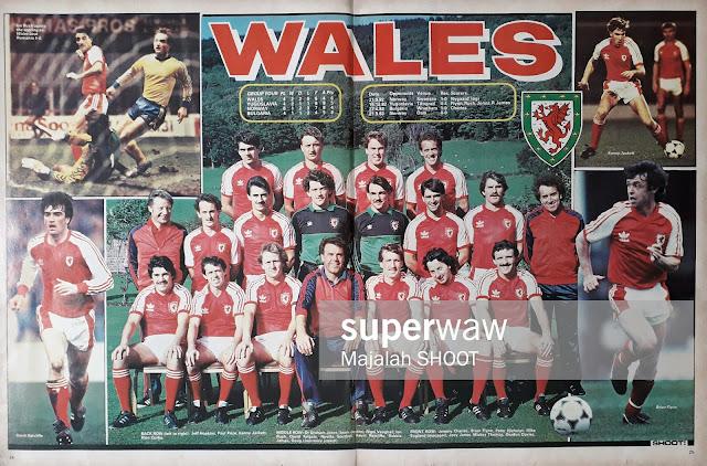TEAM WALES 1983