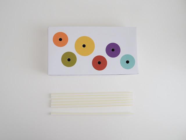 搭配彩虹筆管麵小遊戲的面紙盒做法
