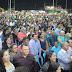 Dia do Evangélico em Santa Luzia do Pará foi comemorado com show gospel para uma grande multidão na Praça de Eventos