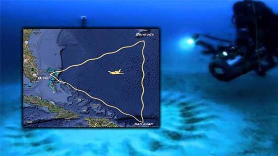 Rupanya Segitiga Bermuda Adalah Pintu Gerbang Ke Dimensi Lain Yang Disorokkan